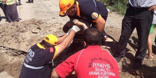 1,5 Yaşındaki Çocuk Sulama Kanalında Boğuldu