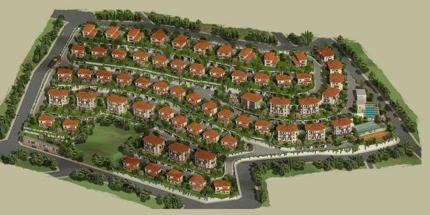 Yeşilyurt Belediyesi, villa sitesi yaptırıyor