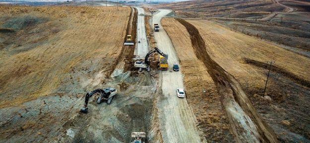 Bulgurlu, Göller, Karakaş Grup Yolu Genişletiliyor