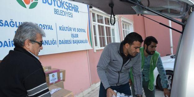 Mültecilere 115 bin TL'lik daha ilaç yardımı yapıldı