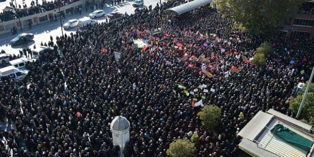 Binlerce Malatyalı ABD ve İsrail'i kınadı...Kudüs için miting