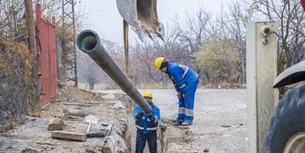 MASKİ, İki Mahallede İçmesuyu Alt Yapısını Tamamladı