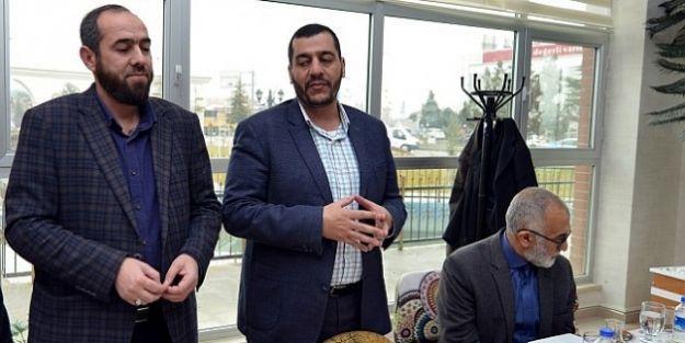 Polat, Hamas Temsilcilerini Ağırladı