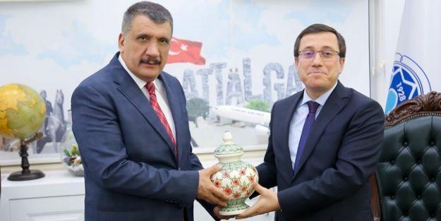 Rektör Kızılay'dan Gürkan'a Ziyaret