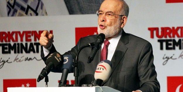 """Karamollaoğlu: 'Savaş Tehlikesi Varsa Milli Hükümet Kurulur"""""""