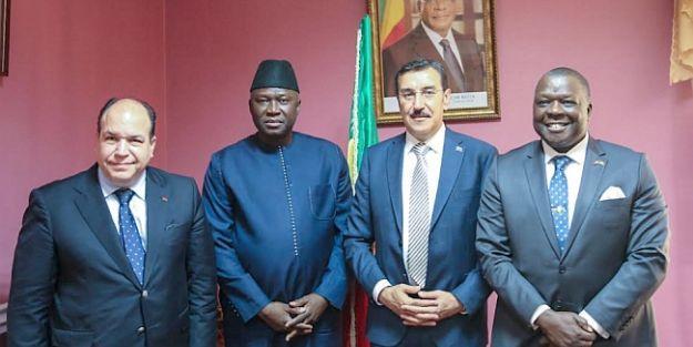 Mali'li Bakanı Malatya'ya Davet Etti