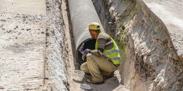 34,5 km'lik içme suyu alt yapısı tamamlandı