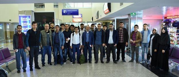 76 kişilik kafile Kudüs'e gitti