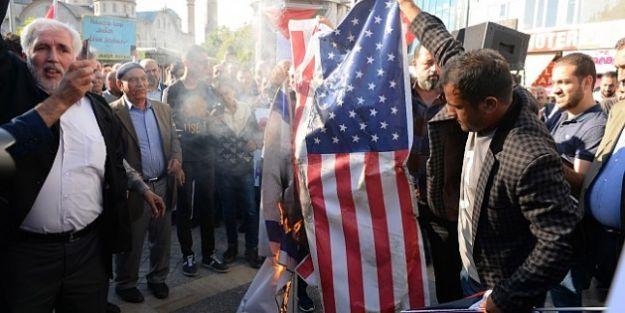 ABD'nin Ateşlediği Filistinli Katliamına Tepki