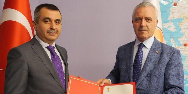 AK Parti İl Başkanlığına İhsan Koca  Atandı