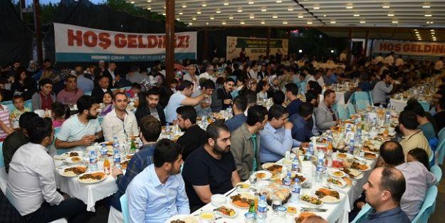 Başkan Çınar, personel ve aileleriyle iftarda buluştu