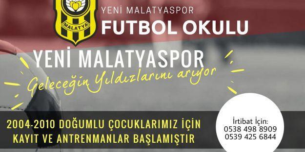 Evkur Yeni Malatyaspor, geleceğin yıldızlarını arıyor