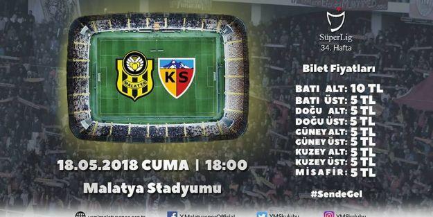 EYMS-Kayserispor maçının biletleri satışa sunuldu