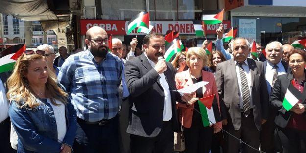 'Filistin halkına yapılan zulüm bir insanlık suçudur'