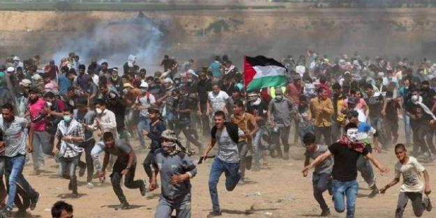 İsrail'e 'Katliam' tepkisi