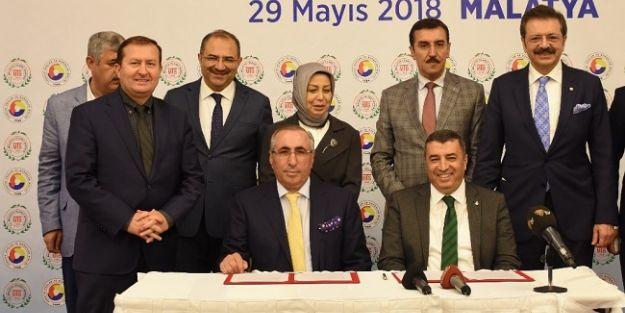 Kuru Kayısı Lisanslı Depoculuk için protokol imzalandı