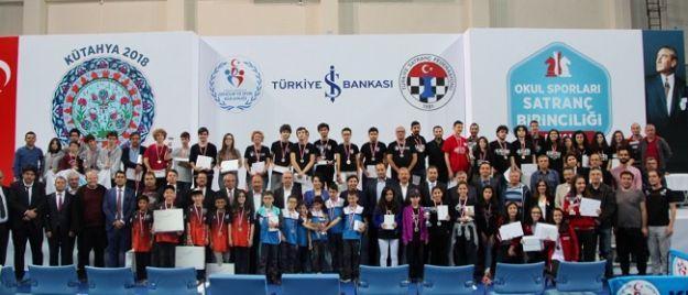 Malatya Fen Lisesi Satranç'ta yarıştı