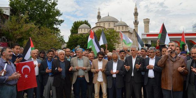 Malatya'da İsrail ve Fransa'ya tepki