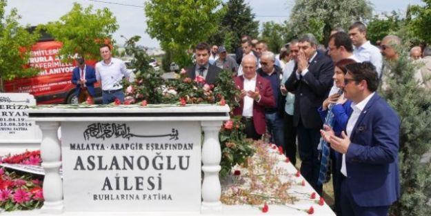 Mevlüt Aslanoğlu Mezarı Başında Anıldı