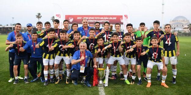 Spor Toto U14 Elit Ligi'nde şampiyon Fenerbahçe