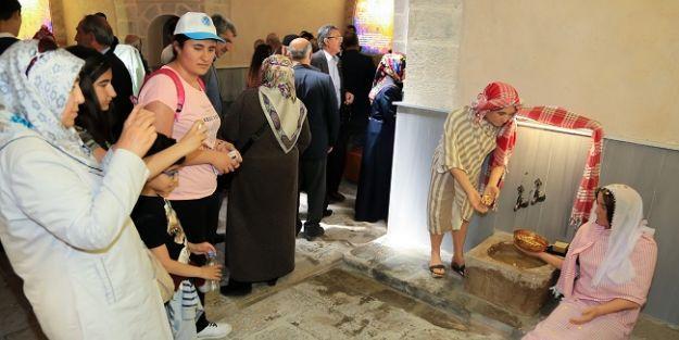 Tahtalı Hamamı 16 bin kişi ziyaret etti