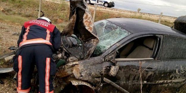 Takla Atan Otonun Sürücüsü Yaralandı