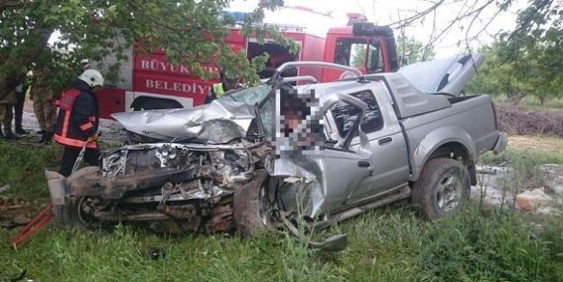 Veteriner hekim kazada öldü