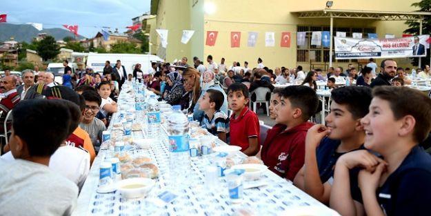 Arapgir'de iftar programı düzenlendi