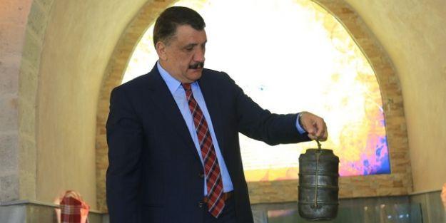 Gürkan, Tahtalı Hamam Müzesi'ni gezdi