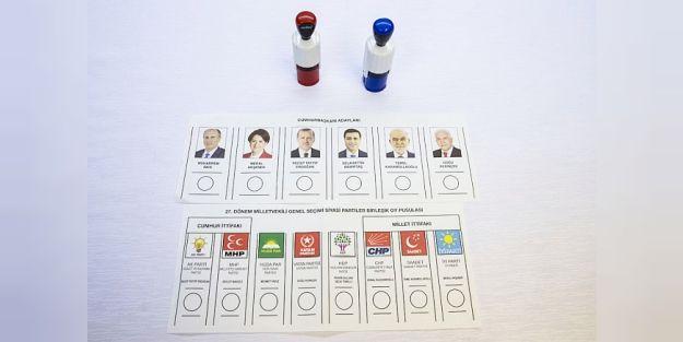 İşte 24 Haziran'ın Oy Pusulaları