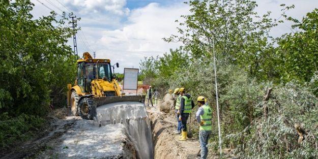 9 mahalleye kanalizasyon hattı yenilendi