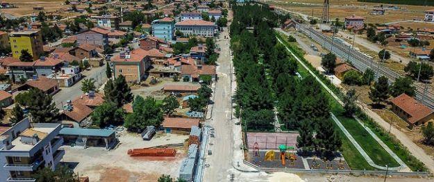 Büyükşehir Belediyesi, Yazıhan'da düzenleme çalışmaları yapıyor