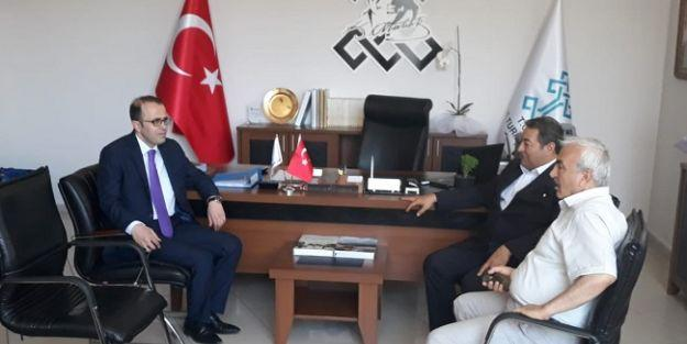 Fendoğlu'ndan, Kültür Turizm Müdürü Şişman'a ziyaret