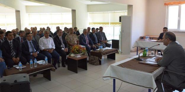 Vali Kaban, Pütürge ve Doğanyol#039;da İstişare Toplantıları Yaptı