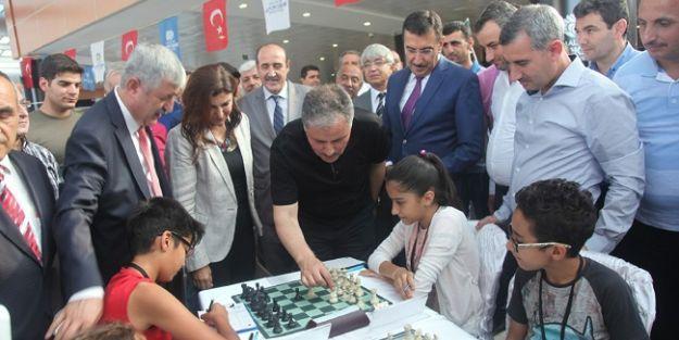 6.Malatya Uluslararası Satranç Turnuvası Başladı