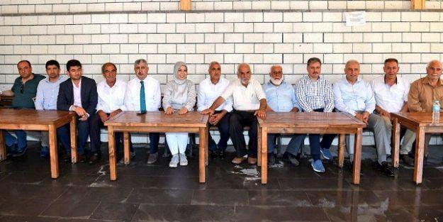 AK Parti heyetinden Doğanyol ve Pütürge'ye ziyaret