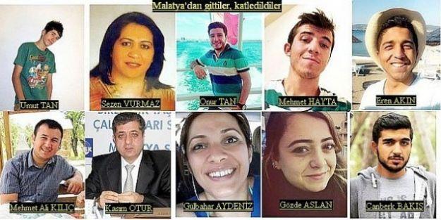 Ankara Gar katliamı davasında karar... Katliamın kurbanlarından 13'ü Malatyalıydı