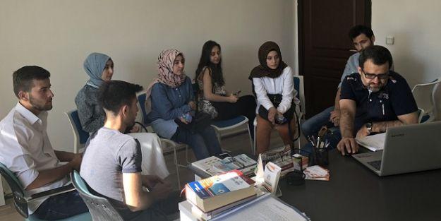 Büyükşehirden öğrencilere rehberlik hizmeti
