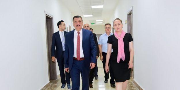 Gürkan'dan, Eksilmez'e ziyaret