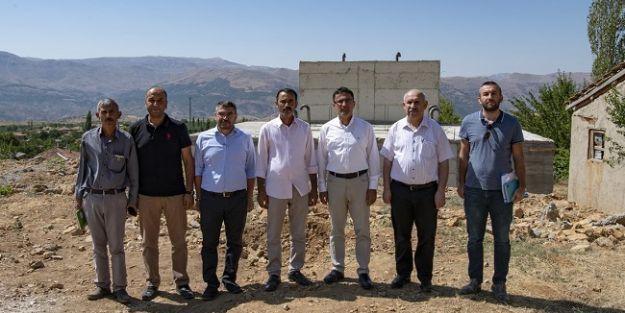 Mumcu, Doğanşehir'de incelemelerde bulundu