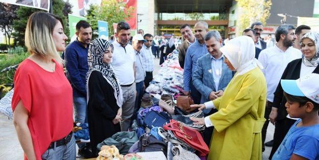 Yeşilyurt Belediyesi 1 milyon adet kıyafet topladı