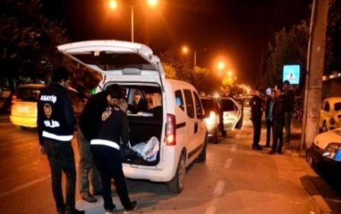 117 araç sürücüsünün ehliyetine el konuldu