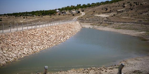 2 mahalleye hayvansal içmesuyu göleti yapıldı