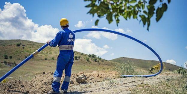 8 mahallede içme suyu hattı tamamlandı