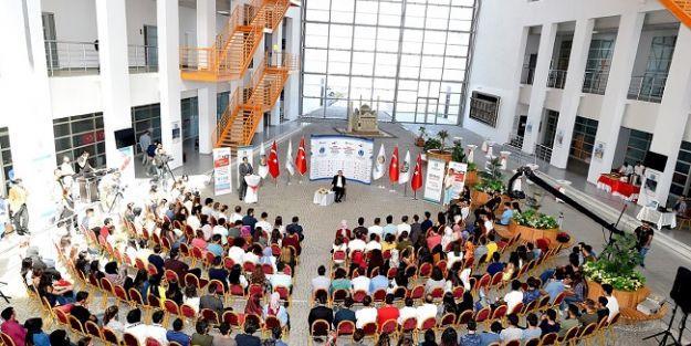 Başkan Polat, gençlerin sorularını yanıtladı