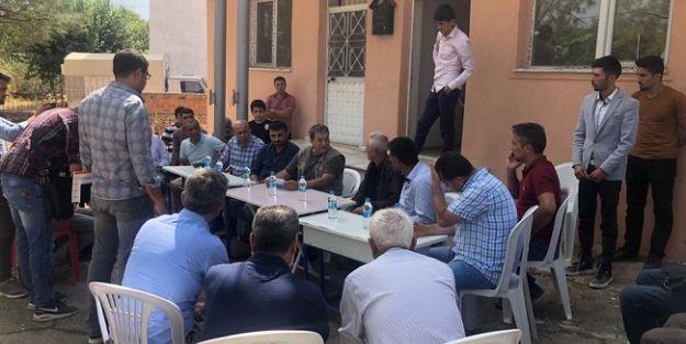 Fendoğlu, çimento fabrikasına karşı çıkan vatandaşları ziyaret etti