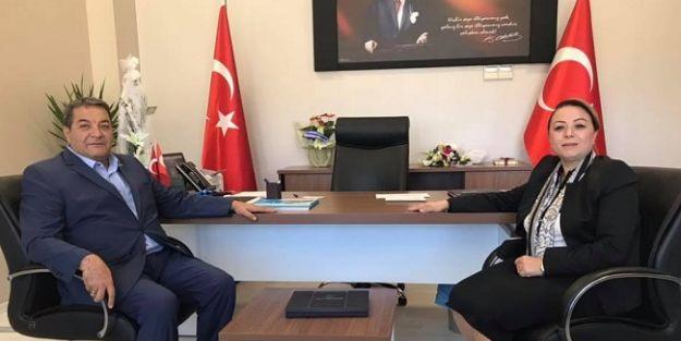 Fendoğlu'ndan, Rektör Karabulut'a ziyareti