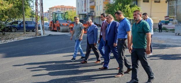 Kırkgöz bölgesinde asfaltlama yapıldı