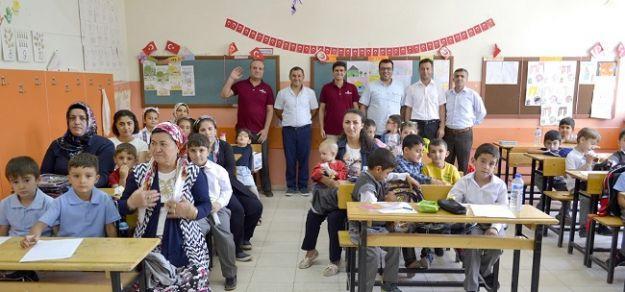 """'Okula Hoşgeldin"""" etkinliği düzenlendi"""