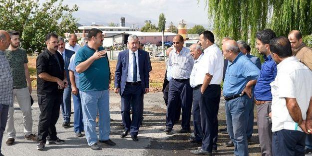 """Polat: 'Daha yaşanabilir bir Malatya için istişare ediyoruz"""""""